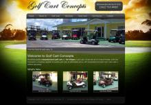 Golf Web Site Design
